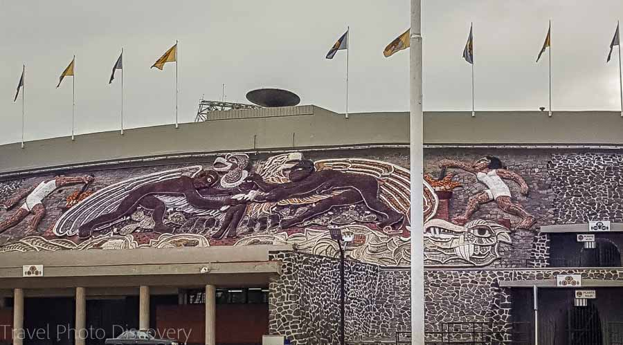 Touring Mexico City Tours by Locals Sports stadium of Mexico City