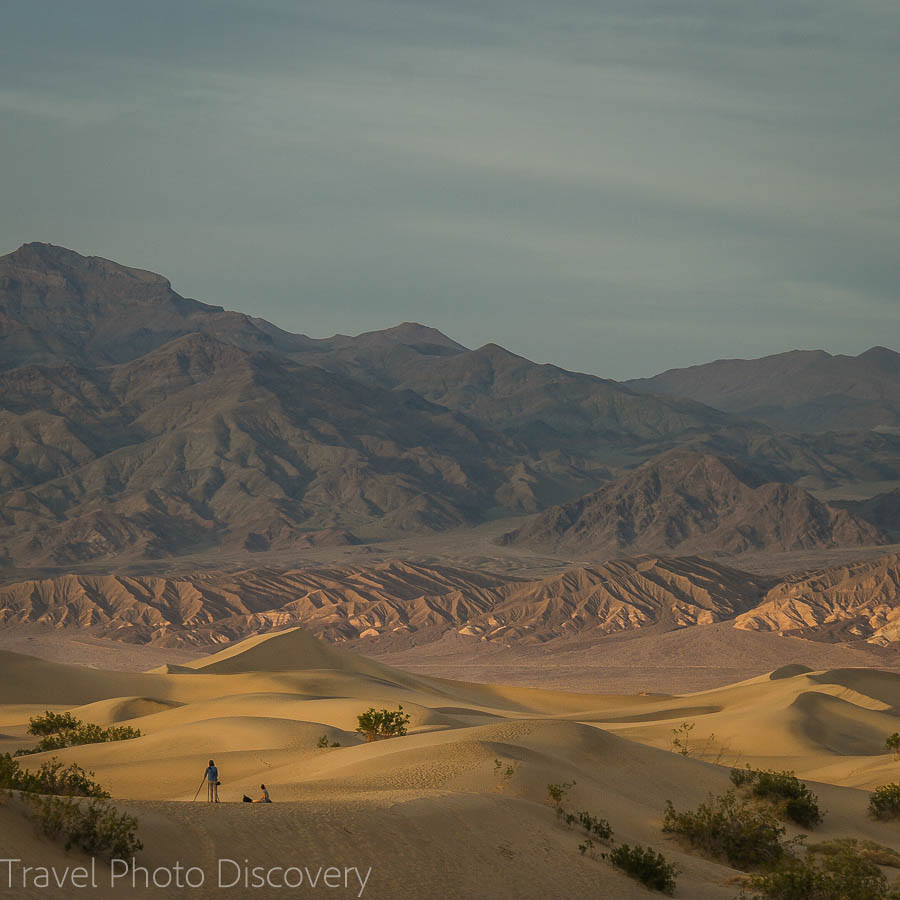Travel Photo Friday Death Valley sand dunes