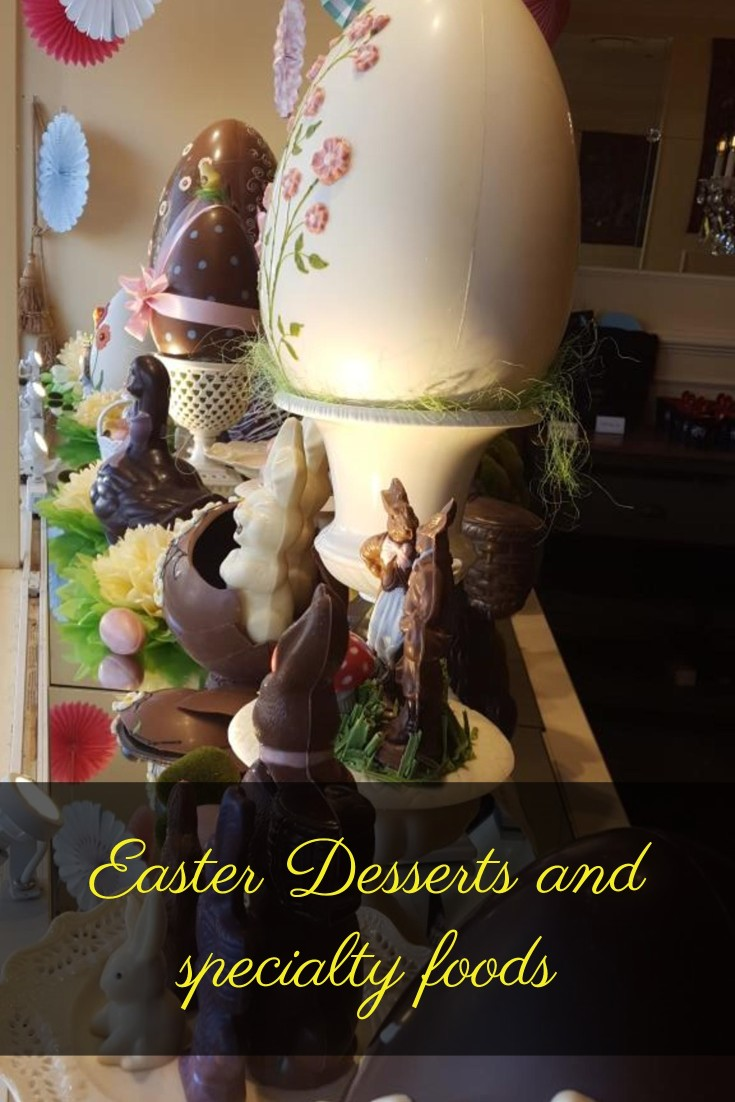 Easter dessert and foods from around the world