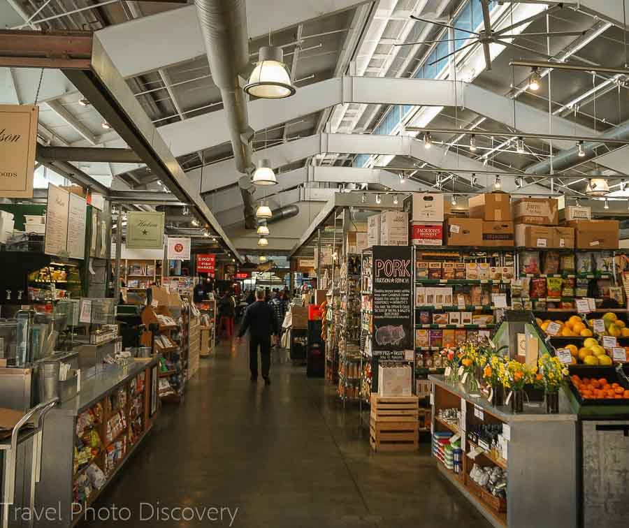 Oxbow Public Market in downtown Napa