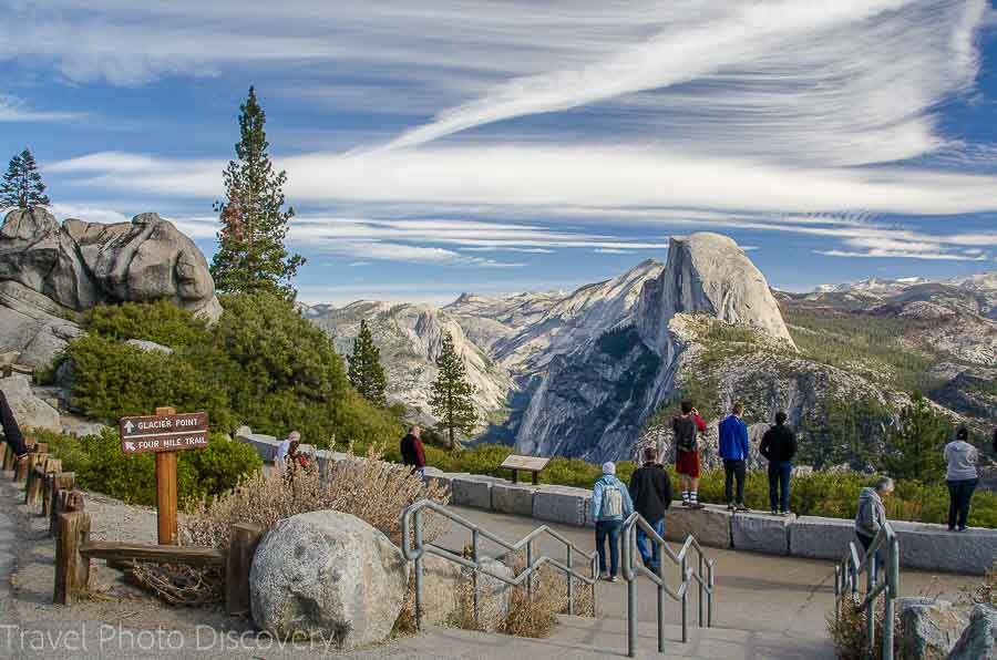 Yosemite look out Top road trips USA