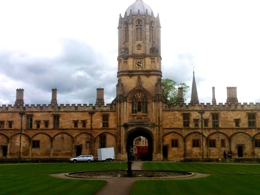 Places to visit Oxford at Christchurch College