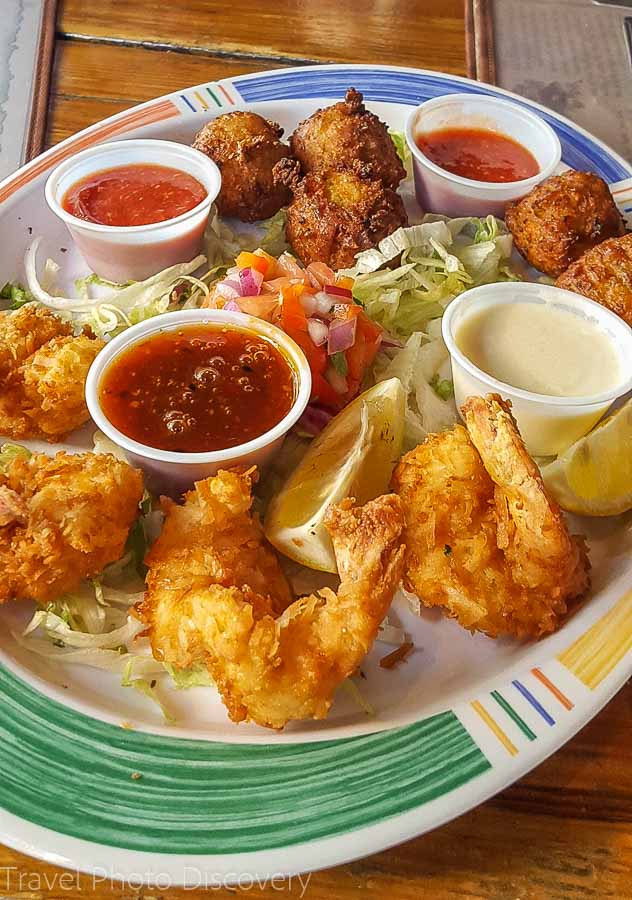 Seafood specialty at Hog Fish Bar and Grill Stock Island