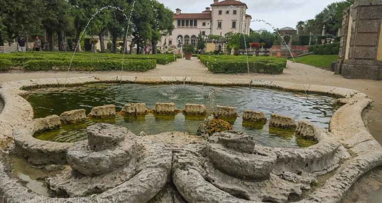 Touring Vizcaya home from the gardens