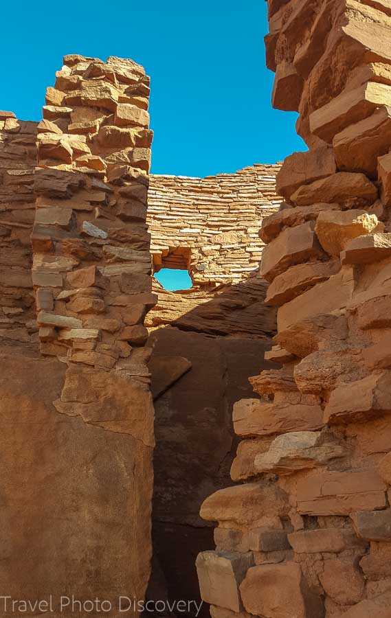 Detailed capture images of the Wupatki ruins in Central Arizona