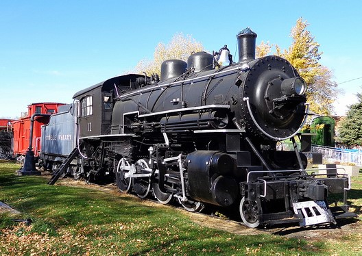 Railway museum, Tooele County in Utah