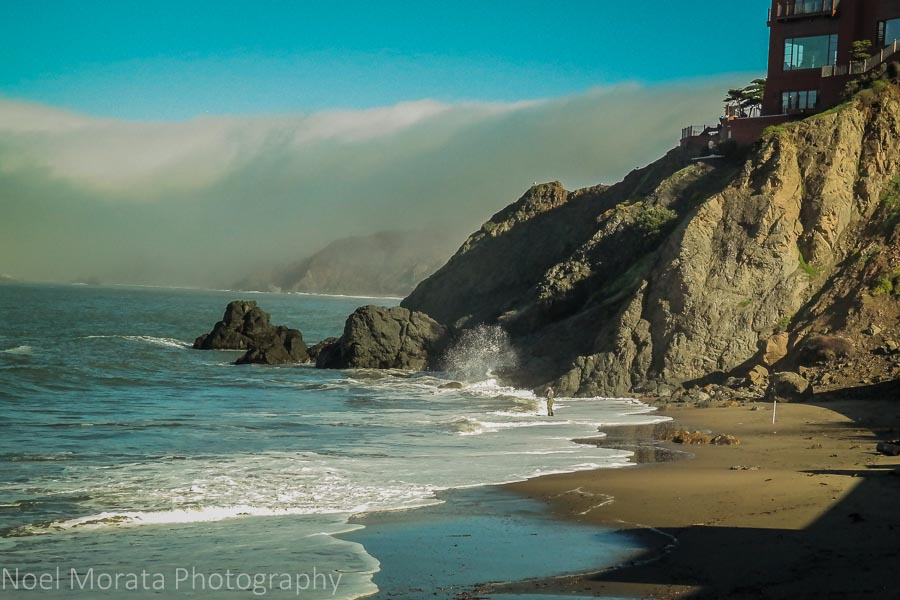 Hidden beaches of San Francisco