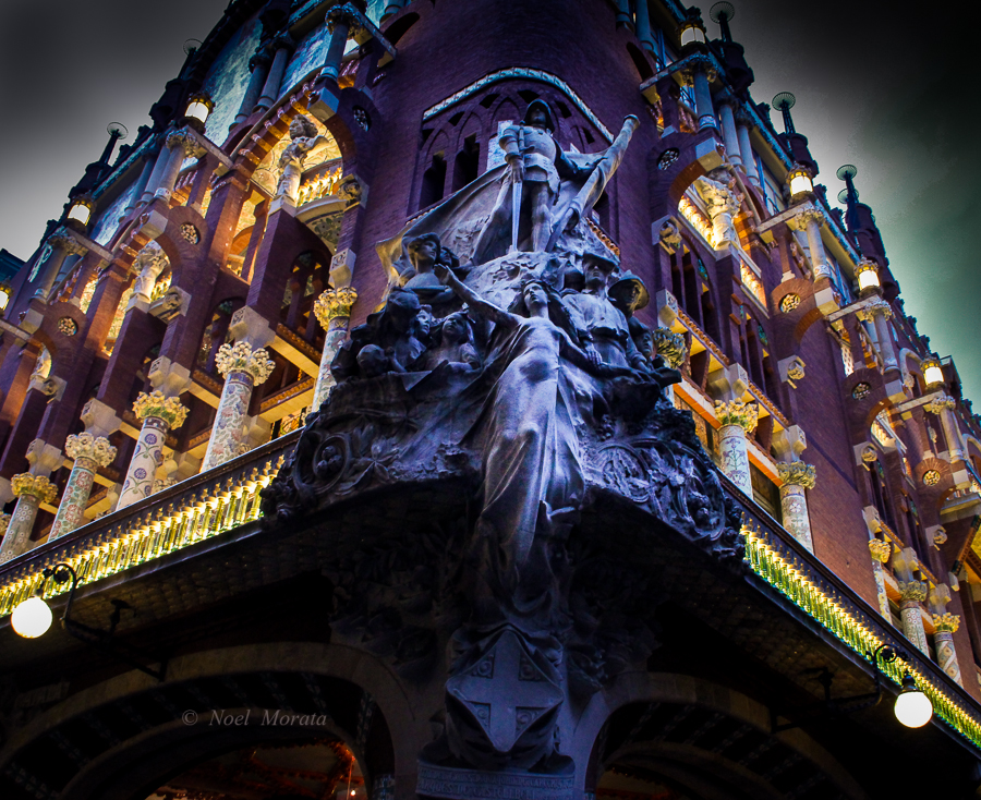 Palau de la Musica Catalana, Barcelona – Photo Friday