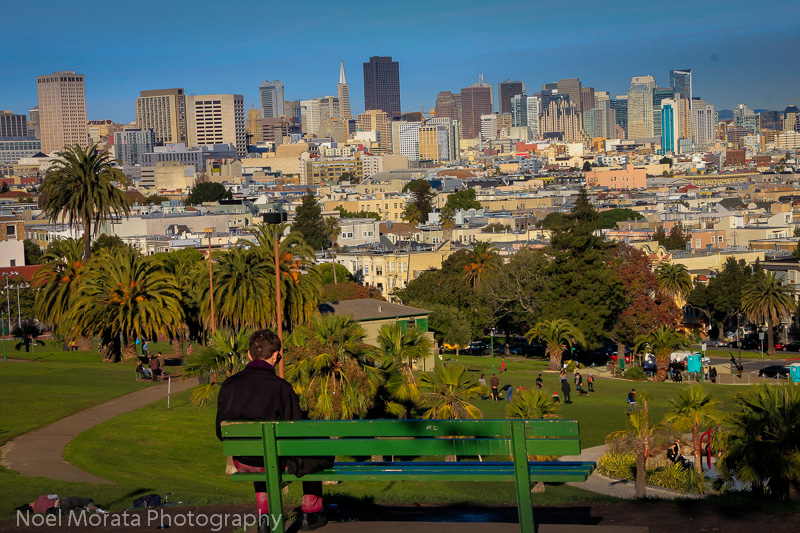Panoramic view from Dolores park