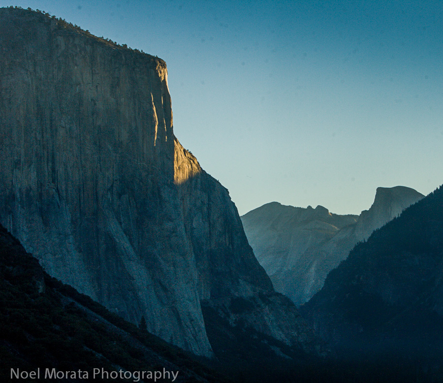 Yosemite Photos - key attractions and landscapes