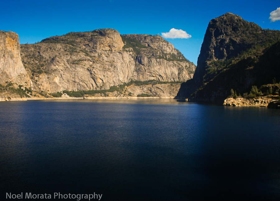 Hetch Hetchy reservoir and dam