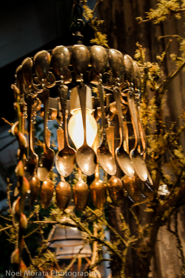 Spoon chandalier