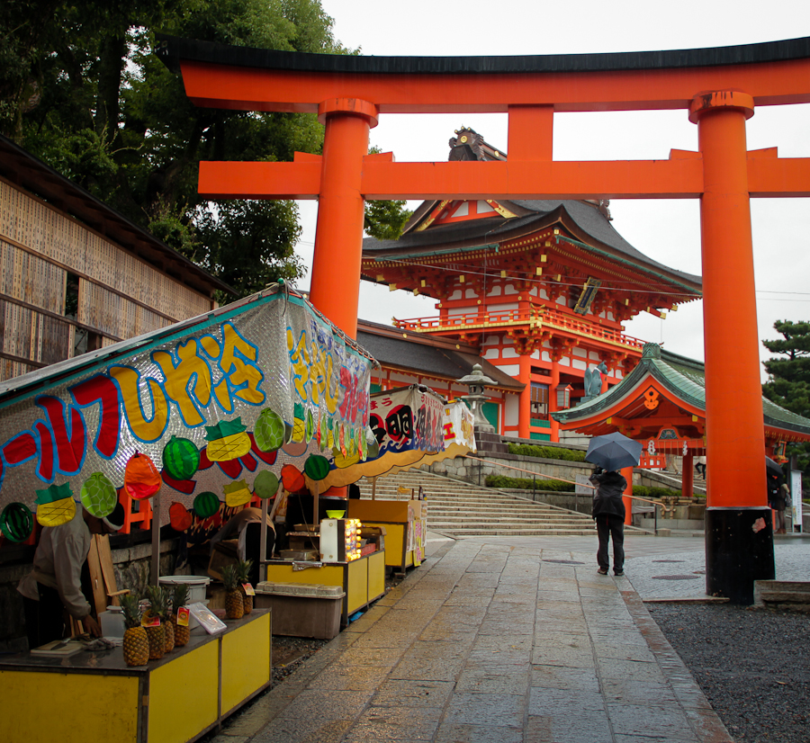 Fushimi Inari Shrine in Kyoto,Travel Photo Mondays #19