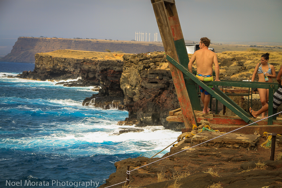 The southern most tip of Hawaii