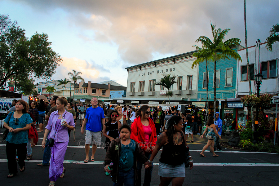 Distinctive towns of Hawaii Island