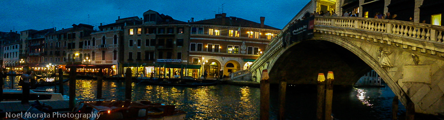 Venice - night time is the magical and romantic hour