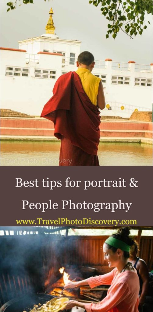 Portrait and people photography tips