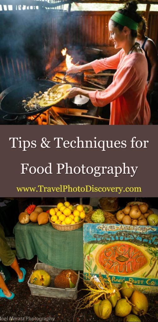 Tips and techniques for food photography