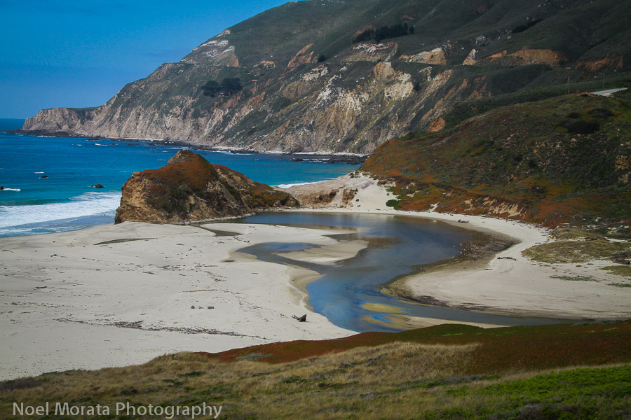 Scenic coastal views of Big Sur