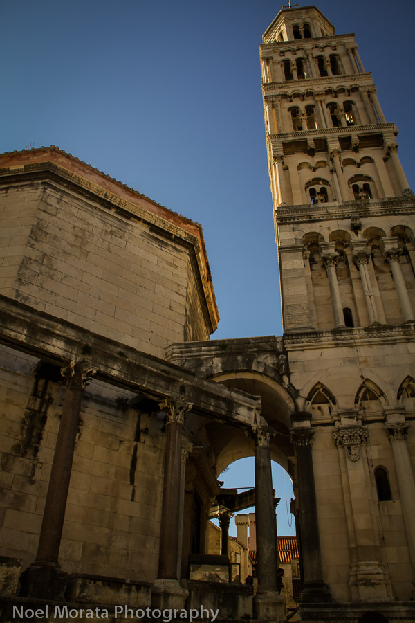 The Mausoleum of Diocletian converted to a cathedral