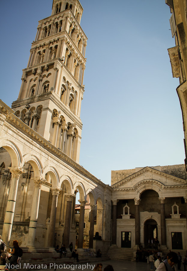 Split – a free city tour of the Diocletian Palace