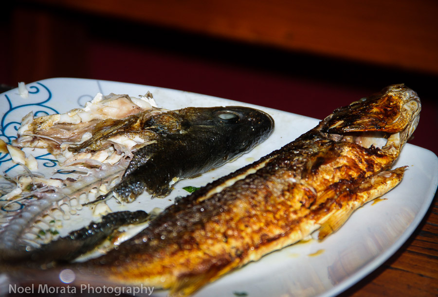 Dalmatian mixed grilled fish