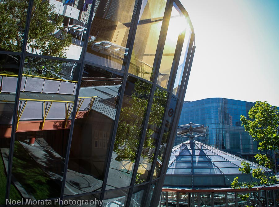 Contemporary architecture at Moscone Center