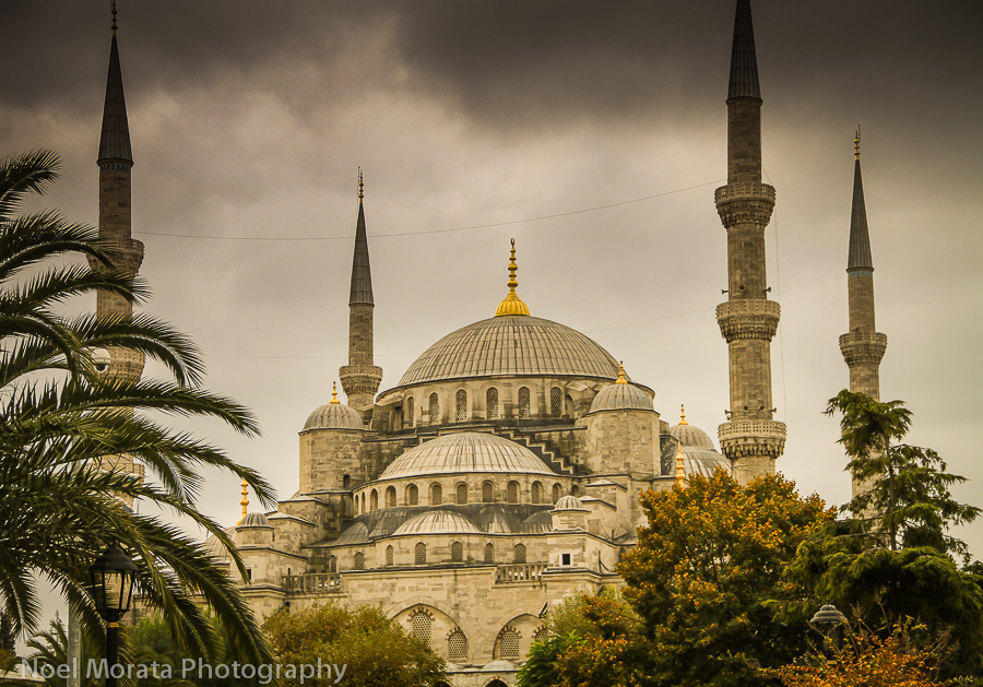 Travel photo : Blue Mosque in Istanbul