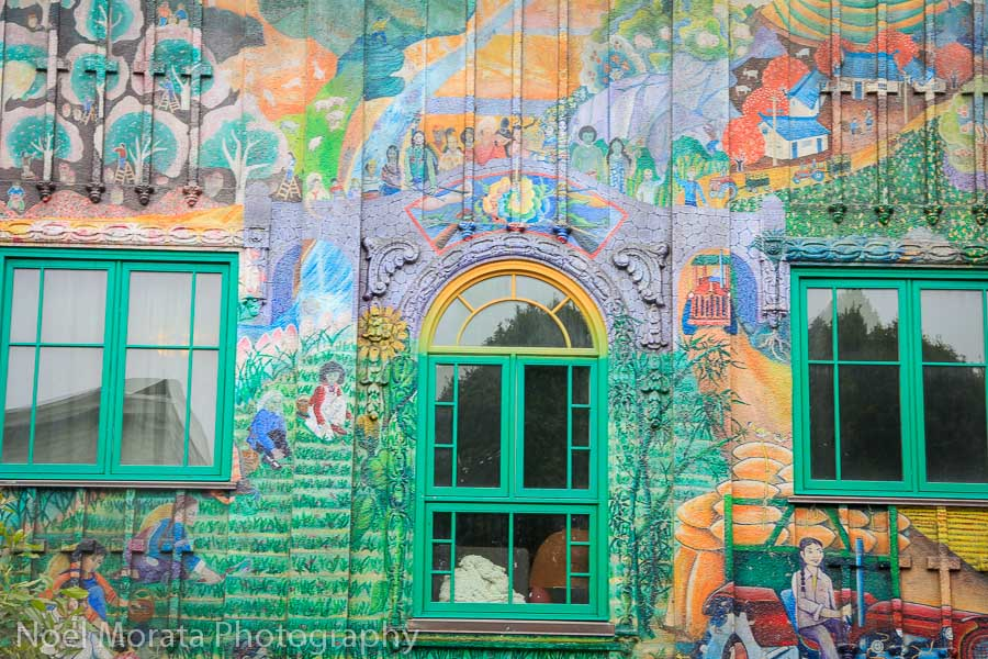 A painted building on 24th Street in the Mission