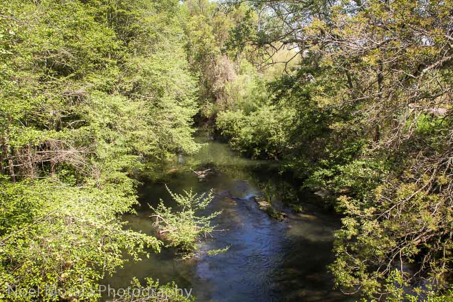 Crossing the Russian River at Dry Creek Valley