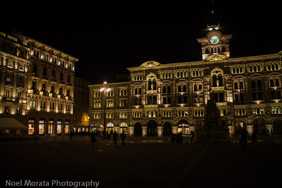 Travel photo: town hall of Trieste