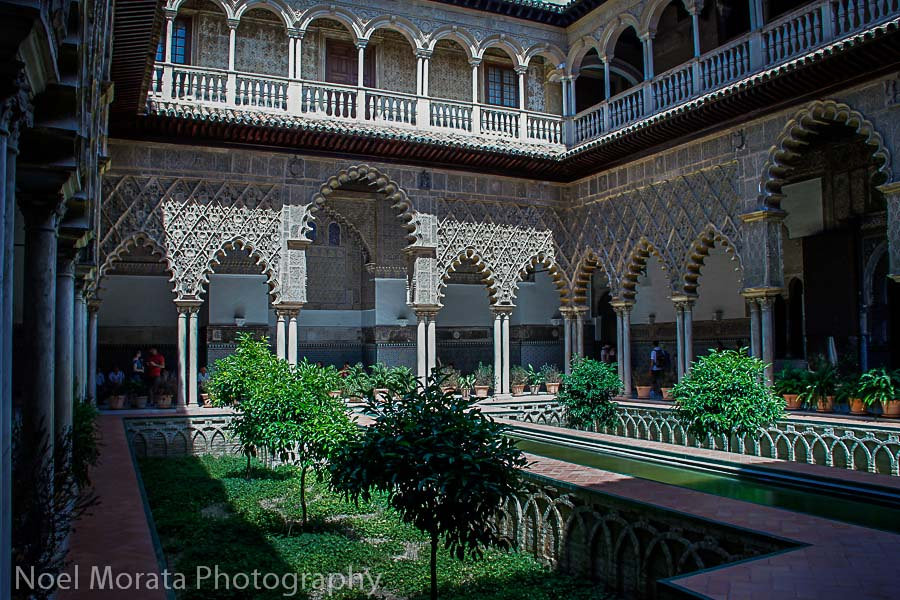 Alcazar in Seville, Travel Photo Mondays