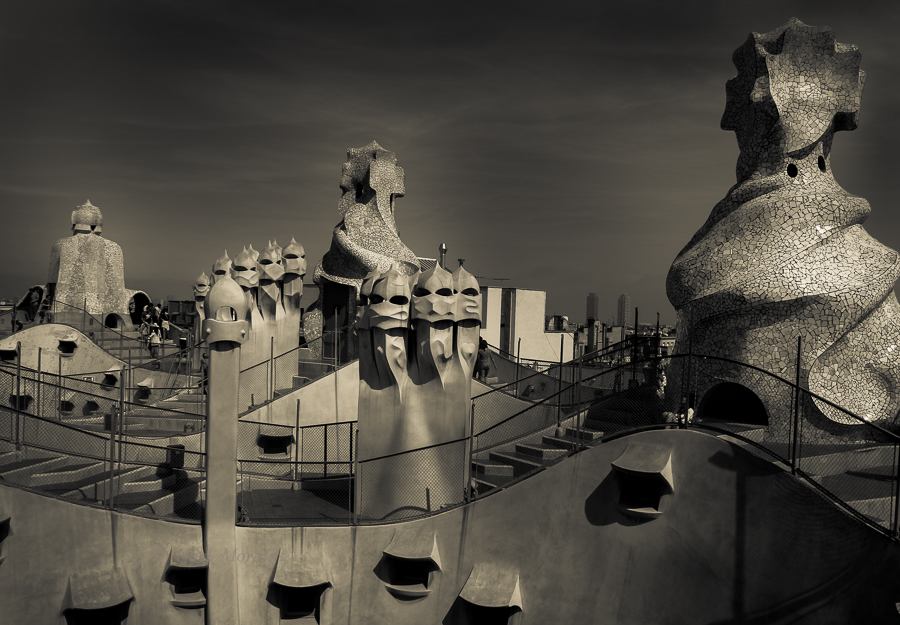 Travel photo: Casa Mila, Barcelona