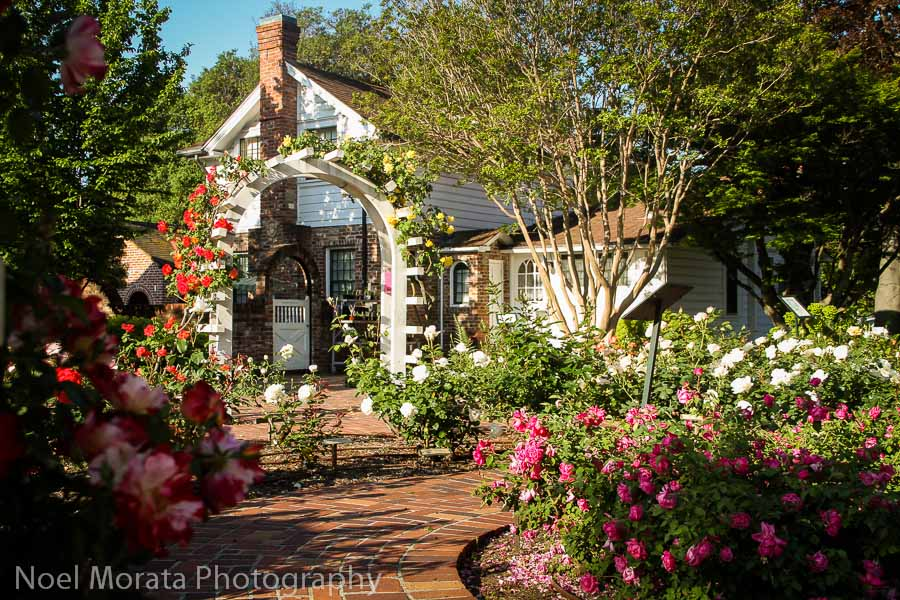 Luther Burbank Gardens and private home