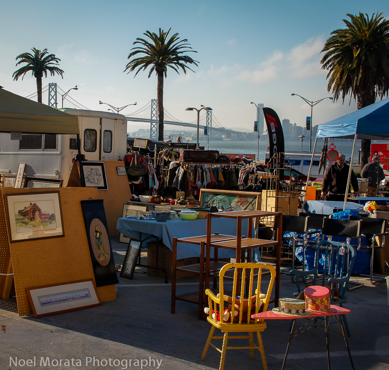 Cool places to visit in San Francisco with Antique and collectible markets