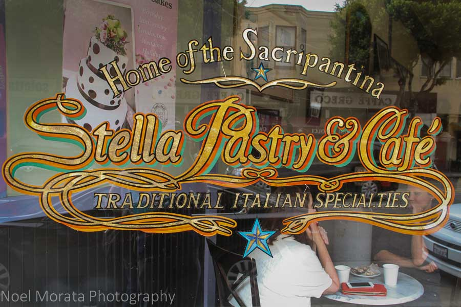 Stella Pastry and café in North Beach
