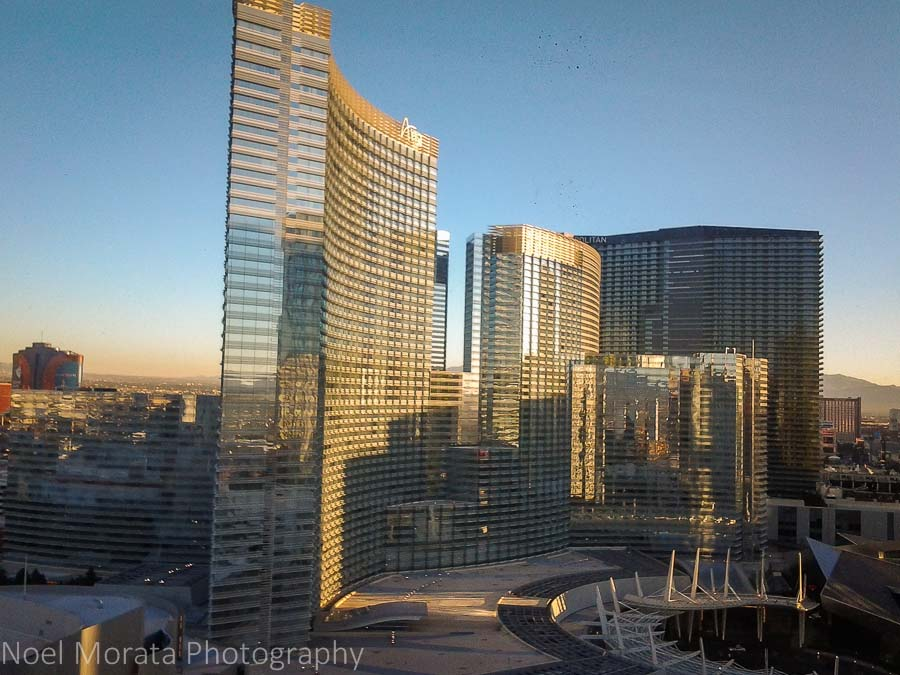 Morning views of Las Vegas Central District