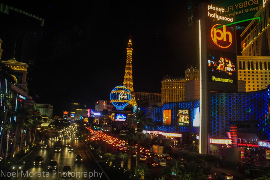 Vegas night scenes – Travel Photo Mondays