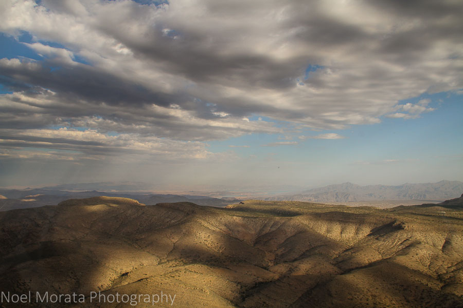 Dramatic skies and Nevada landscapes