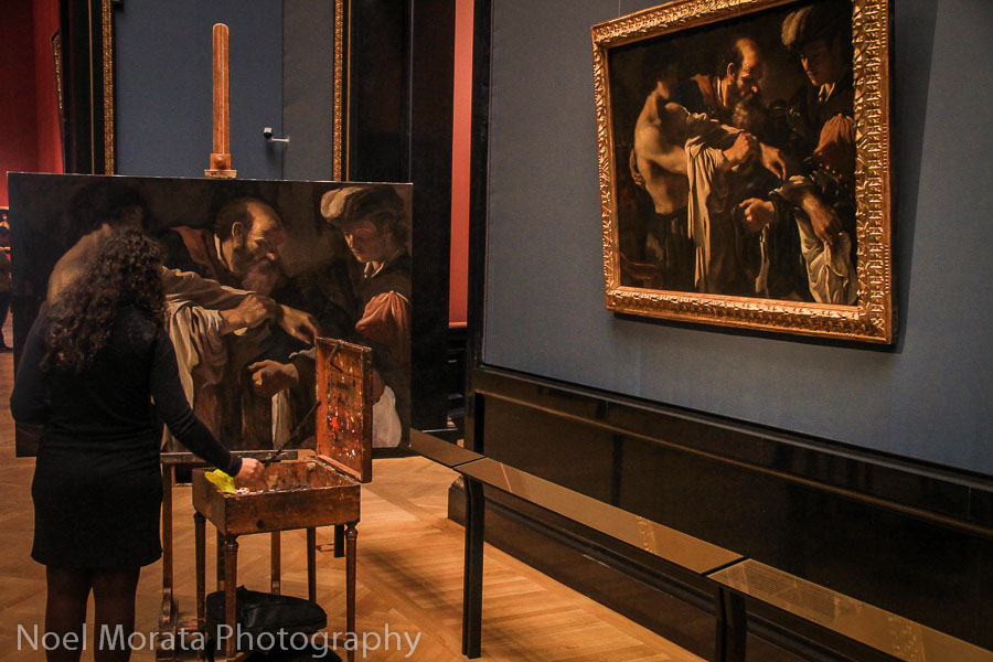 Copying a masterpiece at the Kunsthistorisches Museum