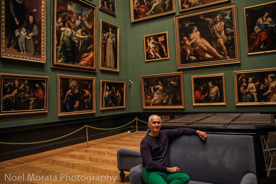 Fine art collection at the Kunsthistorisches Museum