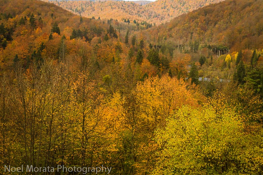 Fall time in Plitvice National Park
