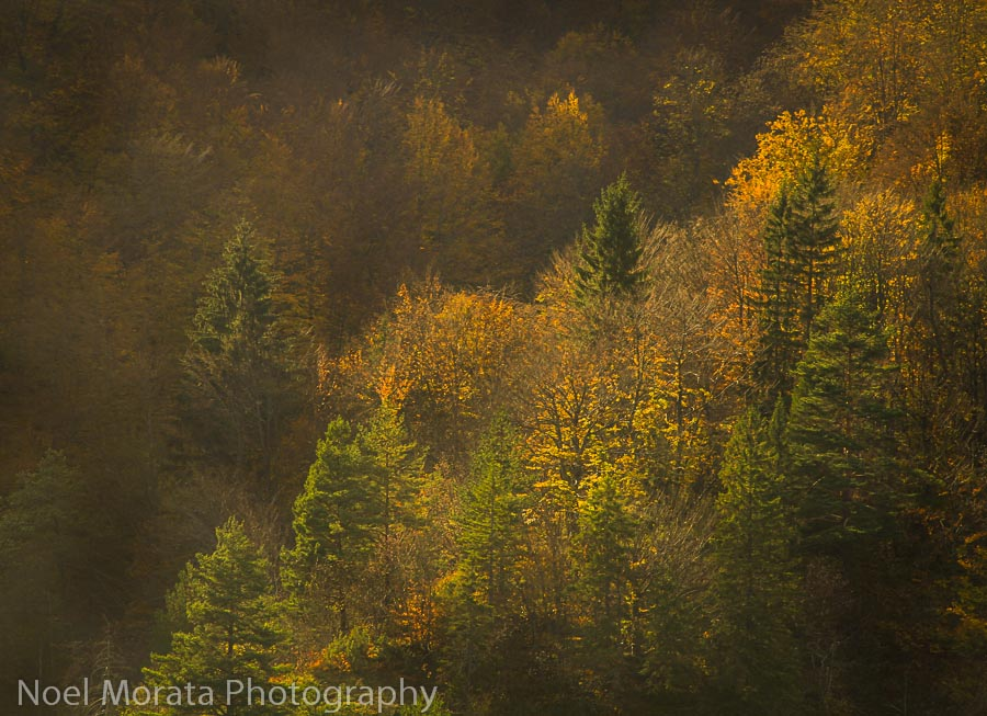 Fall time in Plitvice Lakes National Park, part 2