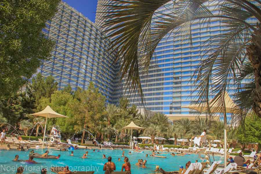 Amazing Vegas resort swimming pools – Travel Photo Mondays