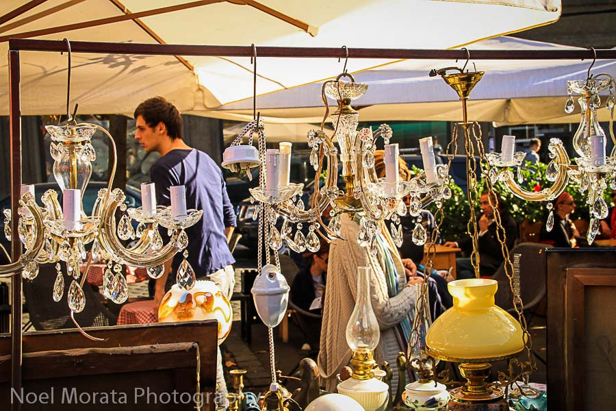 Antique market in Zagreb, Croatia – Travel Photo Mondays