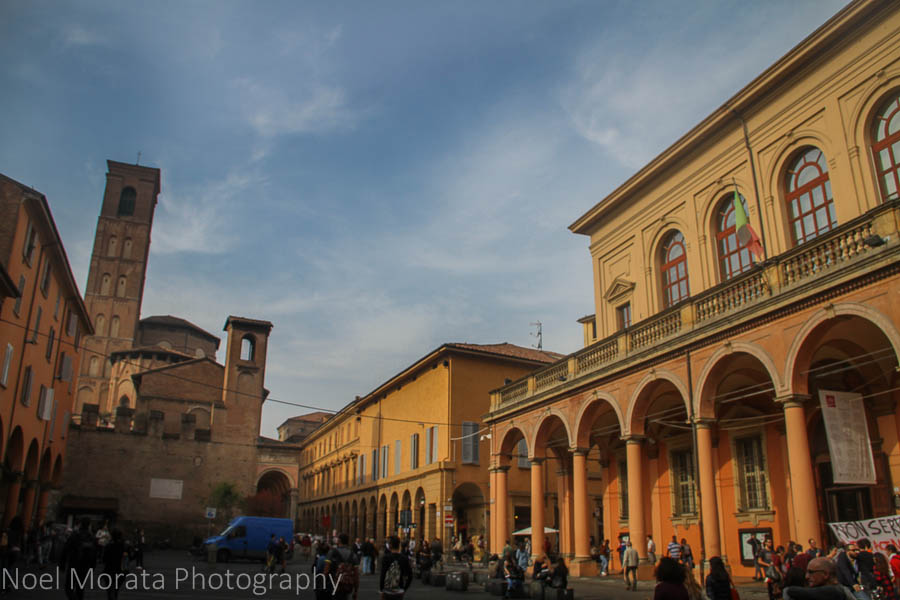 A first impression of Bologna in Emilia Romagna -Travel Photo Mondays