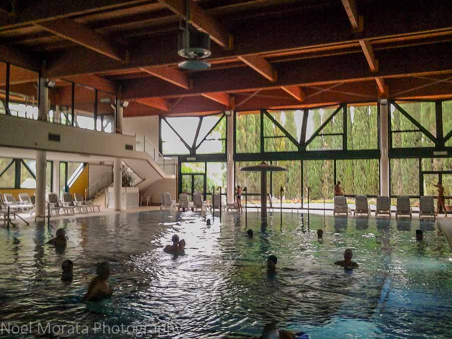 Grand thermal pools at Riolo Terme