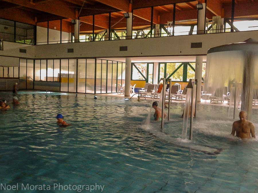 A visit to the spas of Riolo Terme and the Grand Hotel in Romagna, Italy