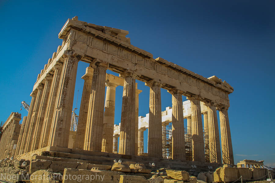 Façade view of the Acropolis in retrofit