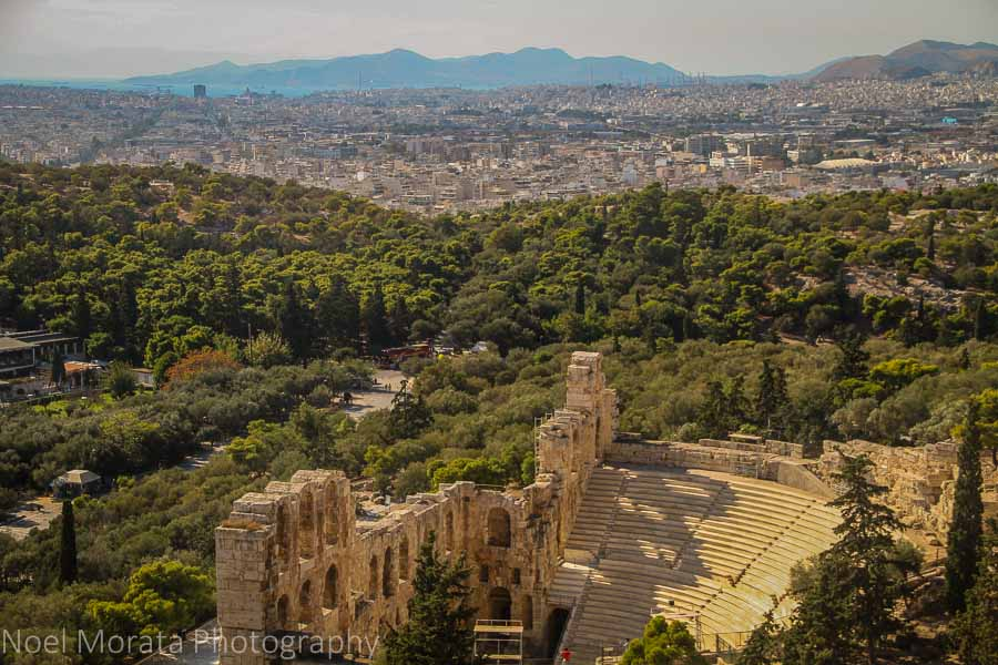Roman Odeion of Herodes Atticus at the Acropolis